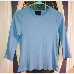 Lauren Ralph Lauren Blue Top!